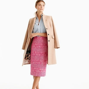 J Crew Pencil Skirt in Houndstooth F8880 Wool 16